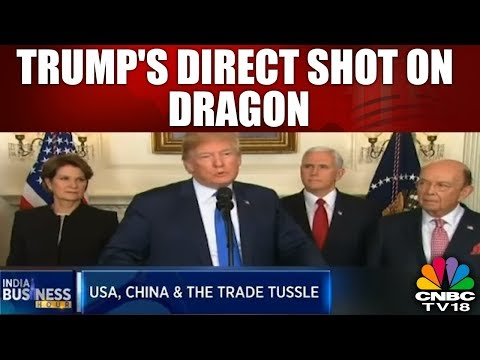 INDIA BUSINESS HOUR | Trump  Imposes 25% Tariffs On $60bn of Chinese Imports | CNBC TV18