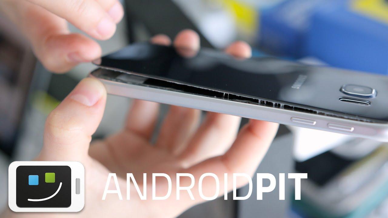 bd99dfb98ff La parte trasera del Samsung Galaxy S6 se despega - YouTube