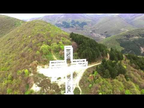 Кръста над град Сливен /Drone/