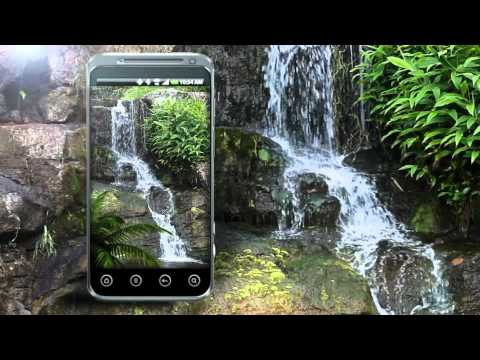 3d Live Wallpaper Pc Download Animated Zen Waterfall W Waterfall Sounds Youtube