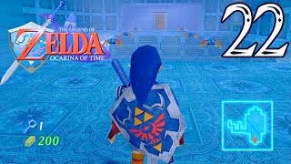Let's Play Zelda Ocarina of Time HD-LE TEMPLE DE L'EAU #22