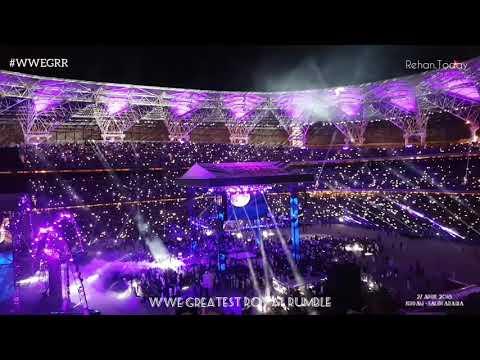 Undertaker's Entrance | WWE Greatest Royal Rumble - 27 April 2018 - Jeddah, Saudi Arabia