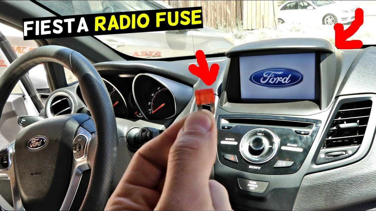 FORD FIESTA RADIO FUSE LOCATION REPLACEMENT MK7 ST  YouTube