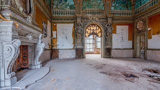 Abandoned Millionaires Family Mansion With Grand Ball Room