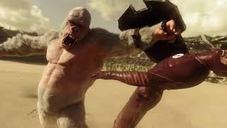 king kong vs skull crawler kong skull island (2017) movie clip