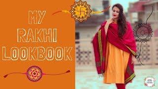 My Rakhi LooKBooK 2017...|| Get Ready With Me...
