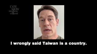 Here's John Cena's Full Apology To China