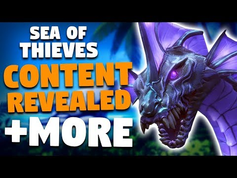 Sea of Thieves Content Plans: New Enemies, Ships, Events, Items & More!