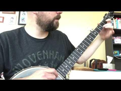 Practicing Double-C Banjo