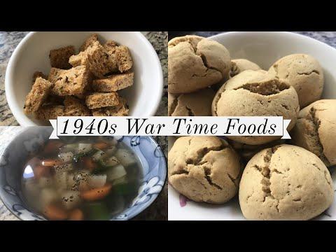 1940s Wartime Foods