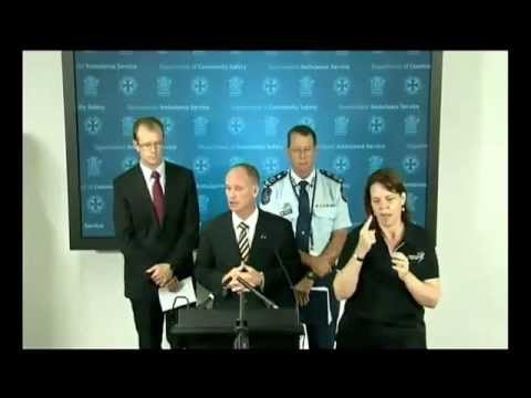 Media conference with Premier - flooding in Queensland 2pm 26 Jan 2013