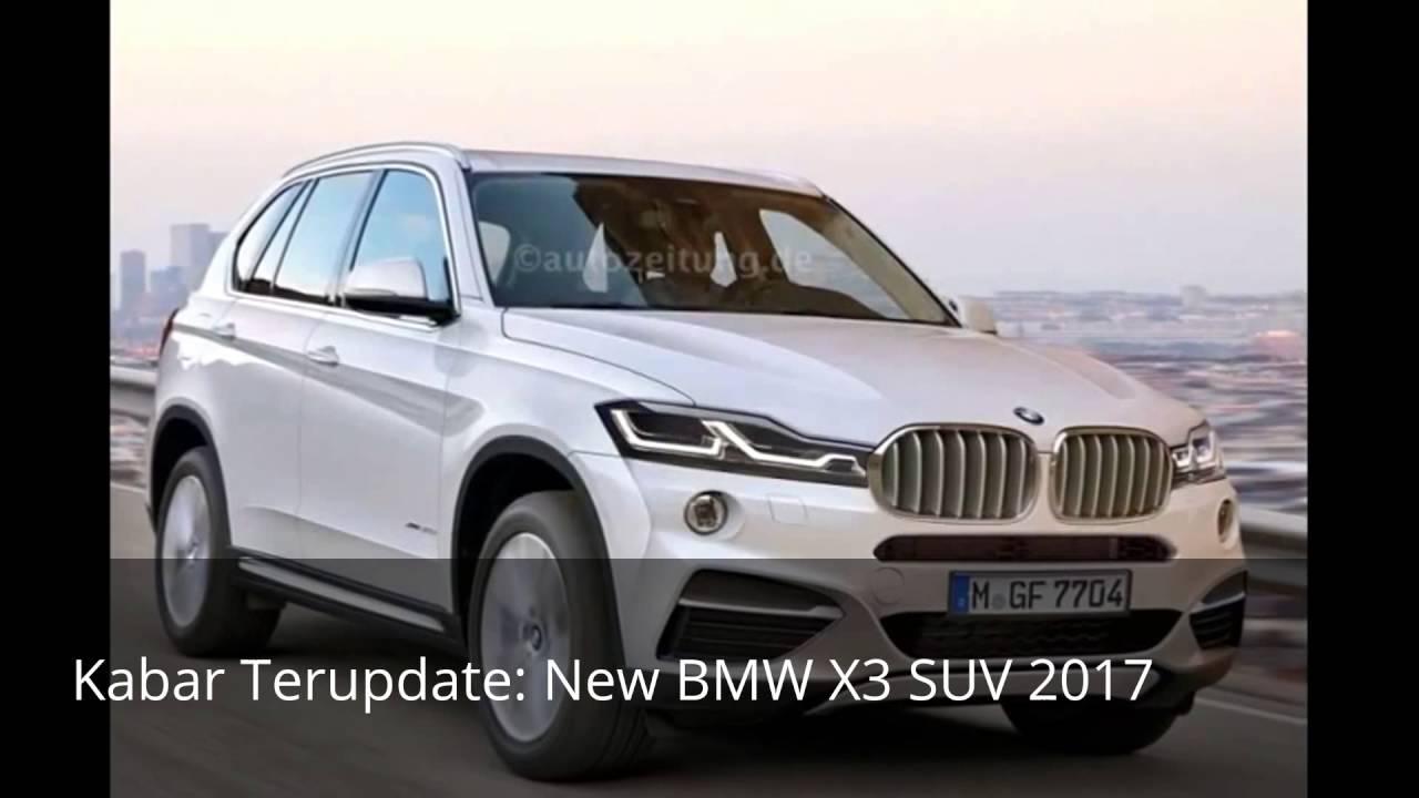 New Bmw X3 Suv 2017