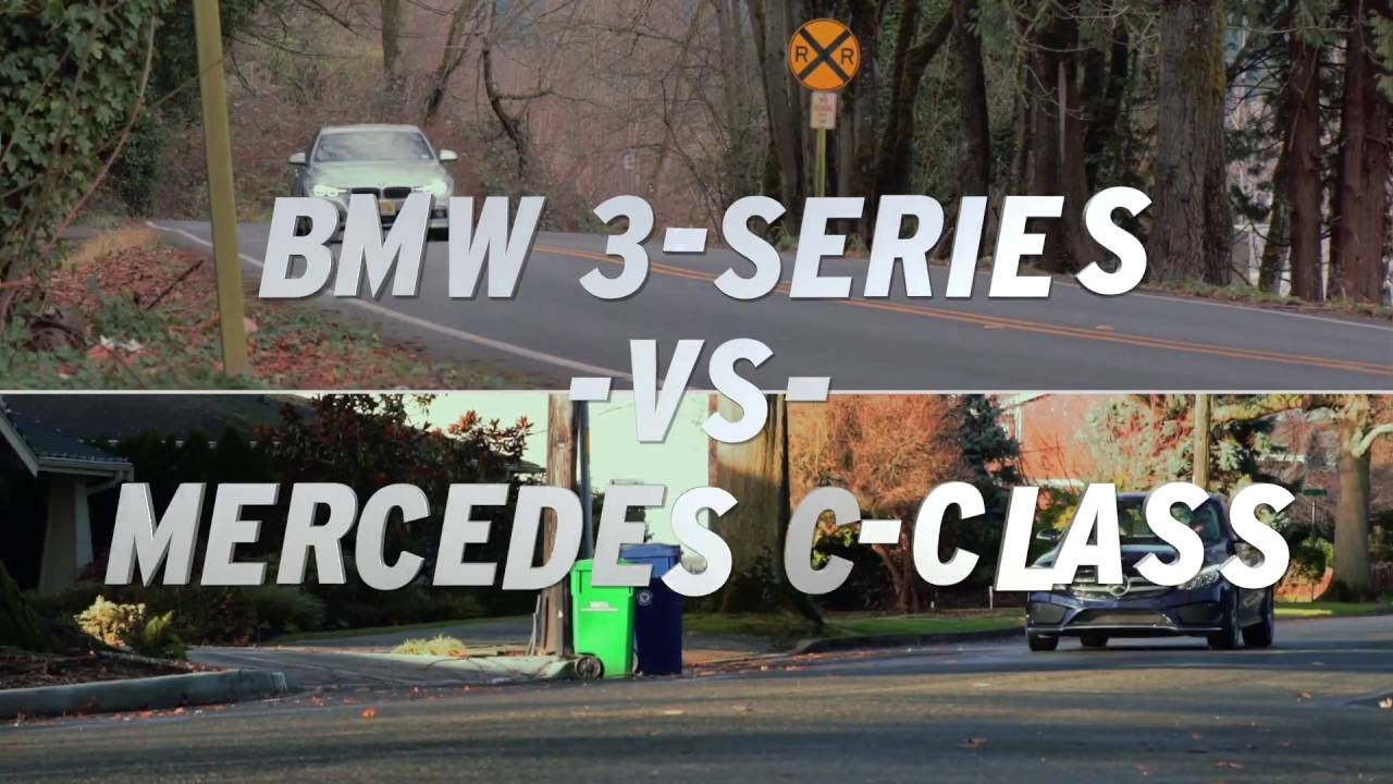 BMW 3-Series vs Mercedes-Benz C-Class - AutoNation - YouTube