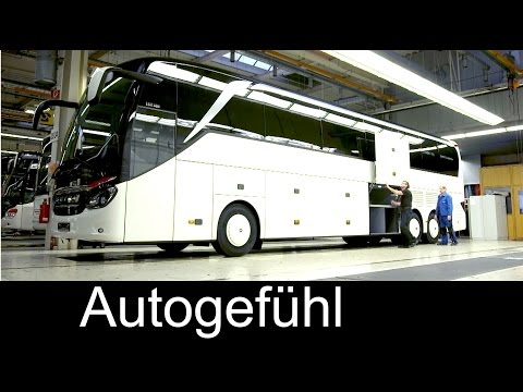 How Daimler/Mercedes busses are built: Setra EvoBus production plant assembly Ulm - Autogefühl