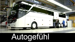 How Daimler/Mercedes busses are built: Setra EvoBus production plant assembly Ulm - Autogefühl thumbnail