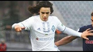 Микола ШАПАРЕНКО - Mykola Shaparenko - 19 years old Dynаmо Кyiv midfielder - Game UPL 1/04/2018