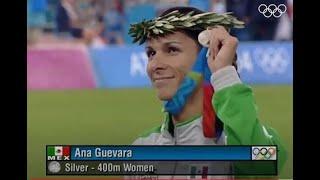 Ana Guevara en la final - Competencia año 0 4
