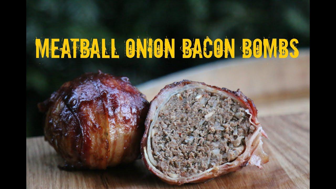 meatball onion bacon bombs moinkballs 2 0 youtube