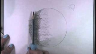 Drawing A Planet With Graphite (Made Easy)