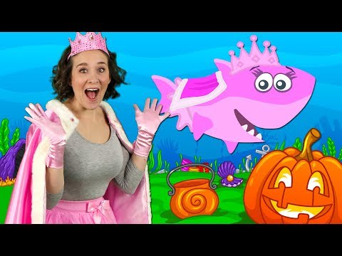 Halloween Baby Shark   Kids Songs and Nursery Rhymes   Halloween Songs from Bounce Patrol
