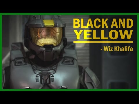 Red vs Blue  AMV  Black and Yellow  Agent Washington