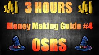 3 Hours Money Making Method #4 Great Magic Exp! Oldschool runescape 2007 (OSRS)