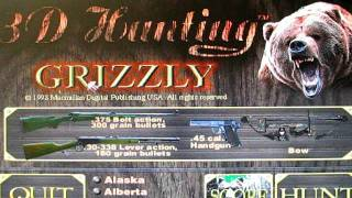 Lets Play 3D Hunting Grizzly Part 3: That bear has got to die.