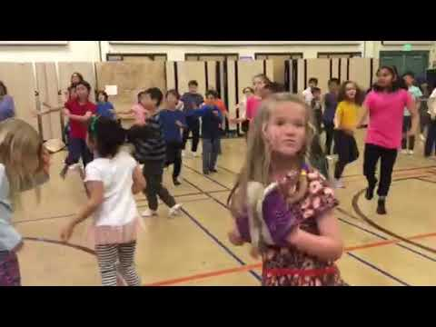Dance at Ocean View School Albany California