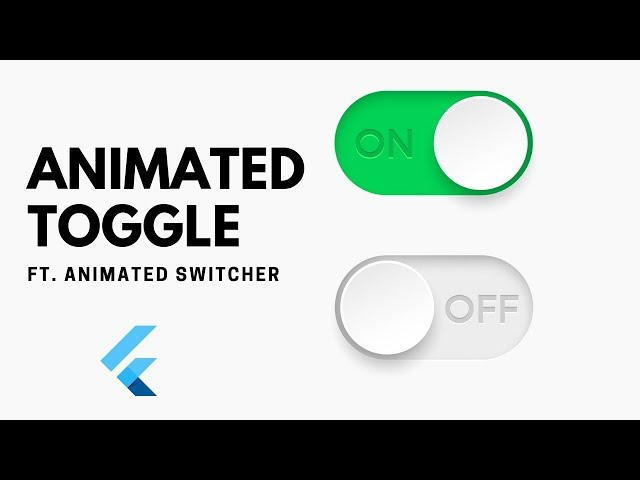 FlutterUI - Animated Toggle Button