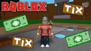 A FÁBRICA DE ROBUX E TIX - Roblox Mint Tycoon