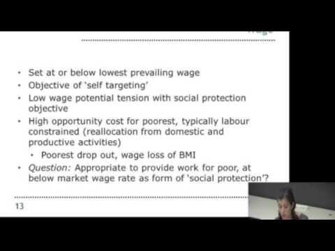 Anna McCord: social protection and public works