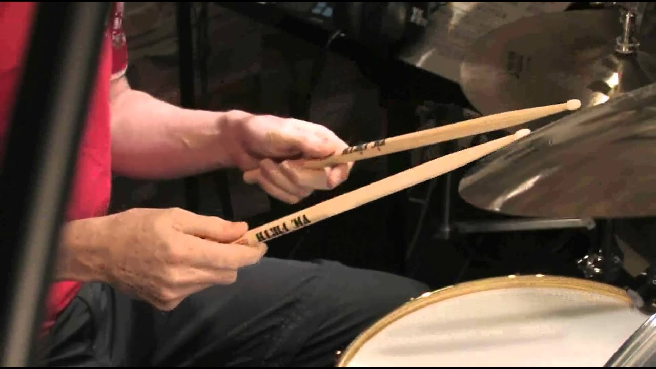 drum lesson no 2 how to hold the drum stick german and french grips by chris brien in hd. Black Bedroom Furniture Sets. Home Design Ideas