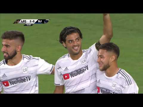 5-0 LAFC Destroys San Jose Earthquakes   Vela Brilliant Solo Goal   HIGHLIGHTS