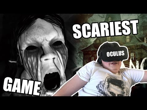 12 YEAR OLD PLAYING THE SCARIEST VIRTUAL REALITY GAME! BEST REACTION! 😂