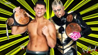 "2013: Cody Rhodes & Goldust 1st WWE Theme Song - ""Gold & Smoke"" (HQ + DL)"