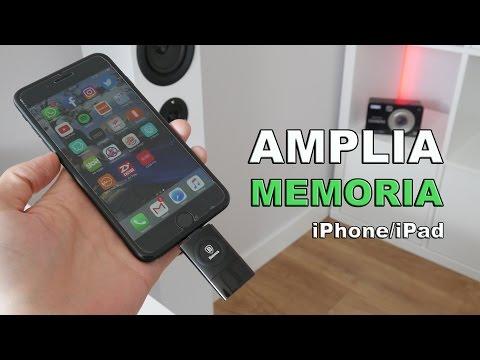 Amplia la memoria de tu iPhone o iPad con esta memoria USB