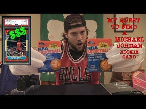Guy Finds A Michael Jordan Rookie Card Videos