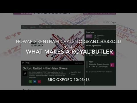 BBC Oxford chats to Grant Harrold about Buckingham Palace and Butlers!