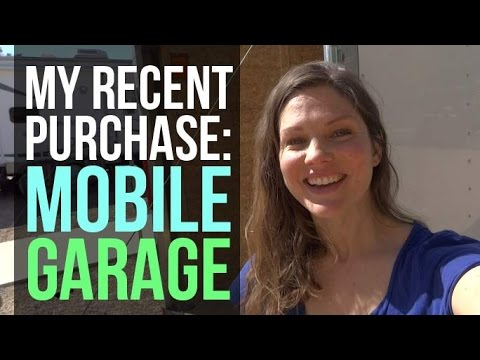 RV Living: Mobile Garage!