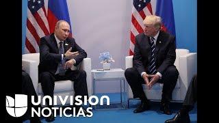 Lo que dijo Vladimir Putin sobre su reunión con Donald Trump