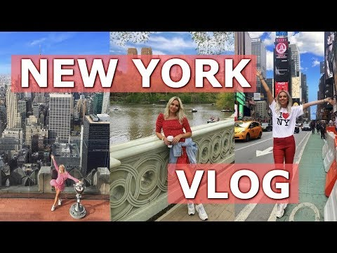 NEW YORK TRAVEL VLOG | 2019