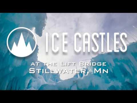 Canviem de tema i anem a veure la part lúdica i artística del gel. La setmana passada vam parlar d'uns castells de gel a Midway, Utah. Doncs bé, hem trobat altres al llarg de la part davantera de Saint Croix River al centre històric de Stillwater, Minnesota.