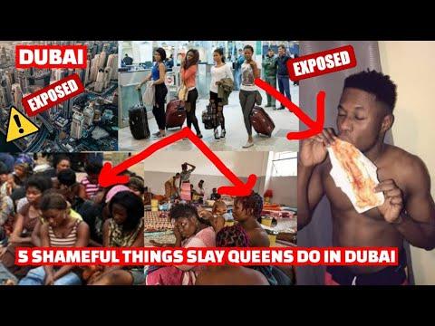Download Top 5 Things Nigerian Slay Queens Do in Dubai & Libya For Money
