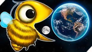 ПЧЕЛОЗАВР СЪЕЛ ЛУНУ И ЗЕМЛЮ - Tasty Planet Forever # 7 Tasty Planet 4 Игра как мультик