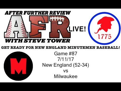 AFR History Maker Baseball Season Play Through, Game 87