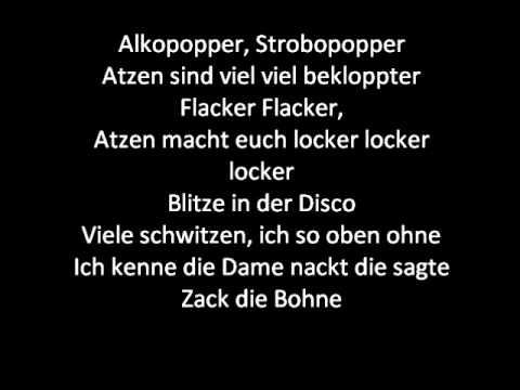 Die Atzen Strobo Pop Lyrics