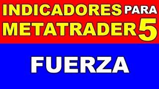 Forex y CFDs - Indicador de FUERZA para METATRADER 5