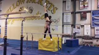 Sam Roach Yellow Jackets Gymnastics Club