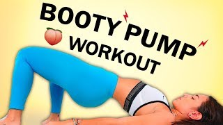 10 Munite Booty Pump Workout - A Rounder Behind