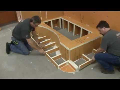 KERDI-BOARD - Bathtub Platforms - YouTube